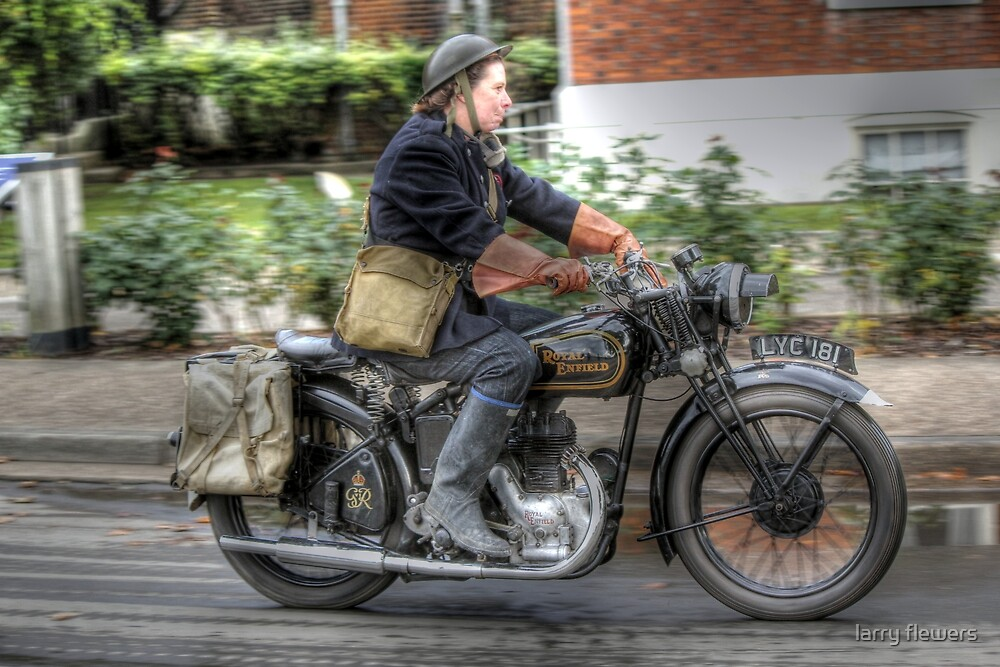 Royal Enfield  by larry flewers