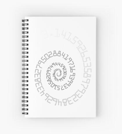 PI Spiral 004 White to Black Spiral Notebook