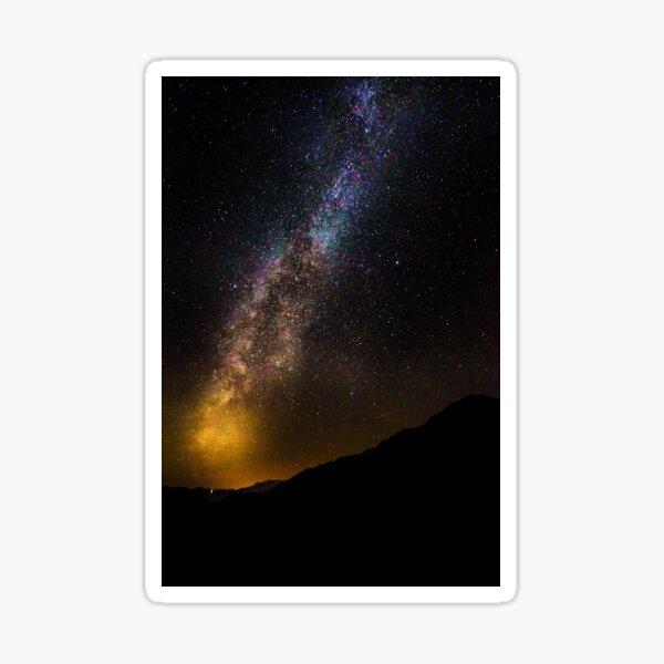Golden Milky Way - Via Lattea Dorata Sticker