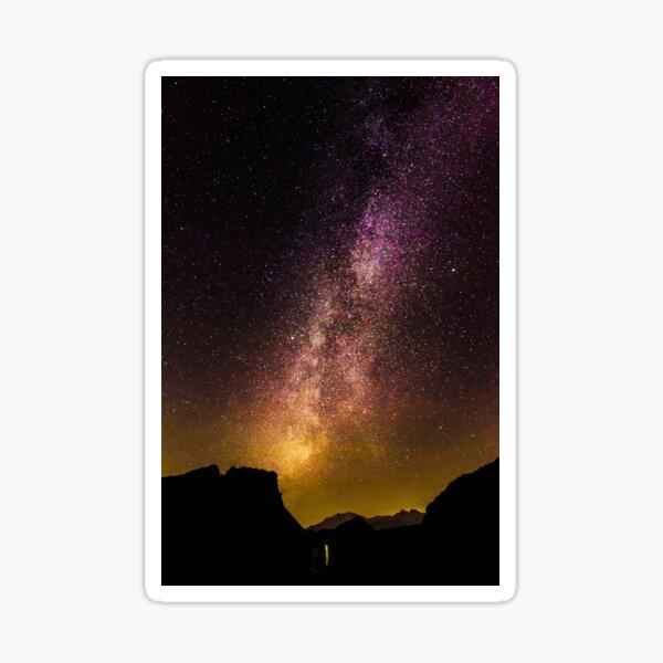 Purple Milky Way - Via Lattea Porporata Sticker