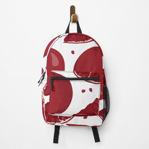 Background of fruits and vegetables Backpack