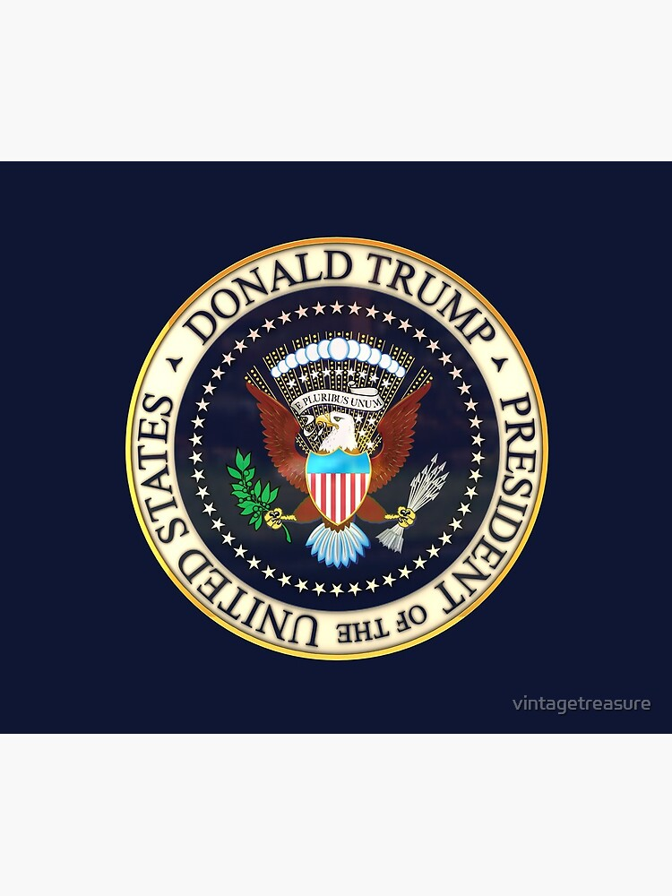 Donald Trump President Seal 2020  by vintagetreasure