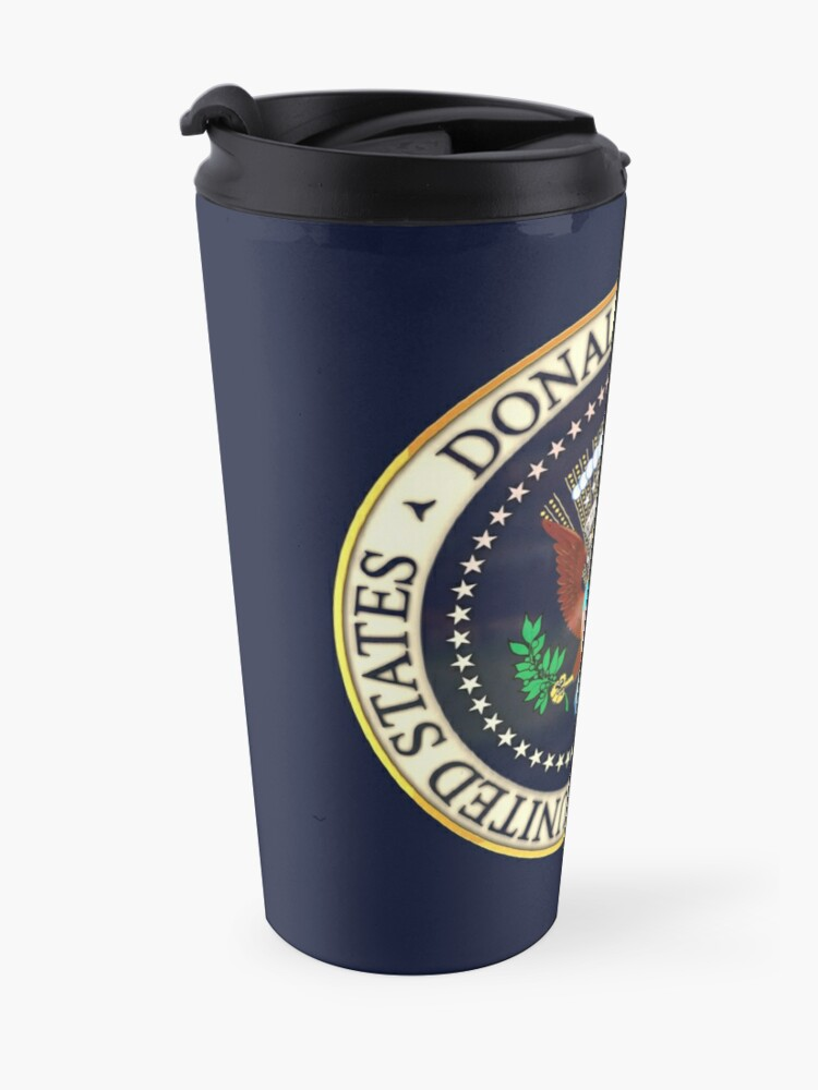 Alternate view of Donald Trump President Seal 2020  Travel Mug