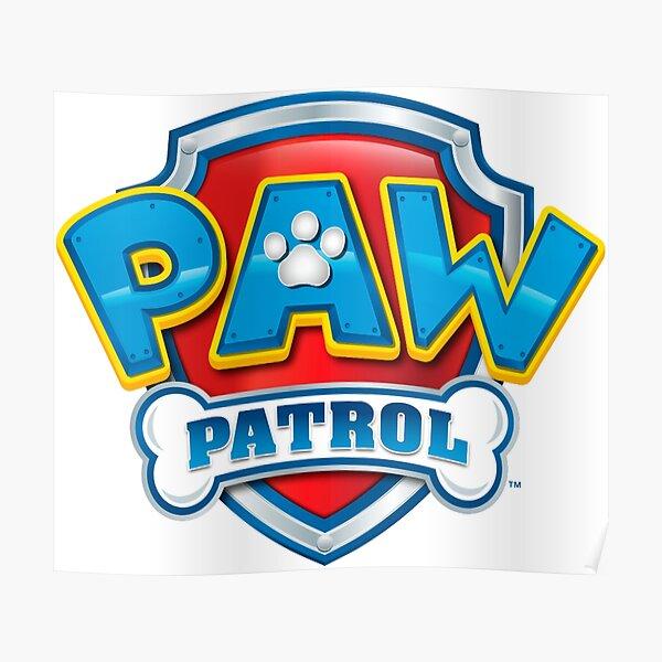 Paw Patrol Logo Poster