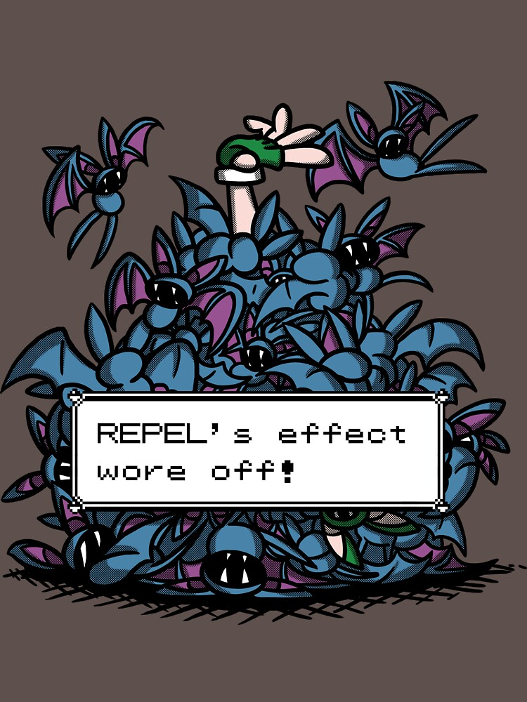 NateWantsToBattle - Repel Wore Off | Unisex T-Shirt