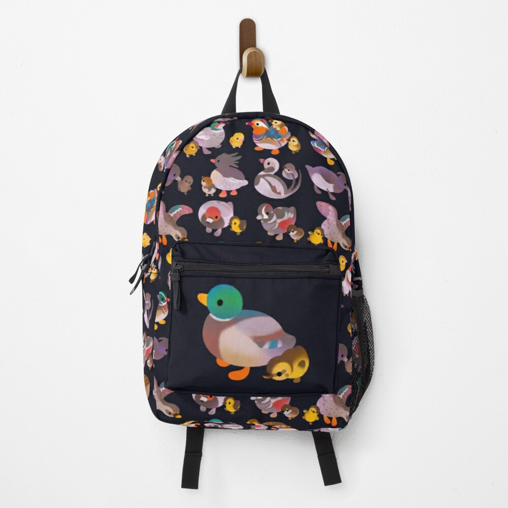 Duck and Duckling - dark Backpack
