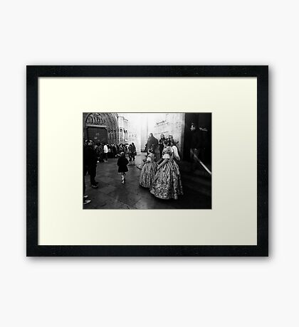 Rehearsing Tradition .. Framed Print