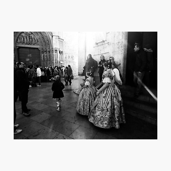 Rehearsing Tradition .. Photographic Print