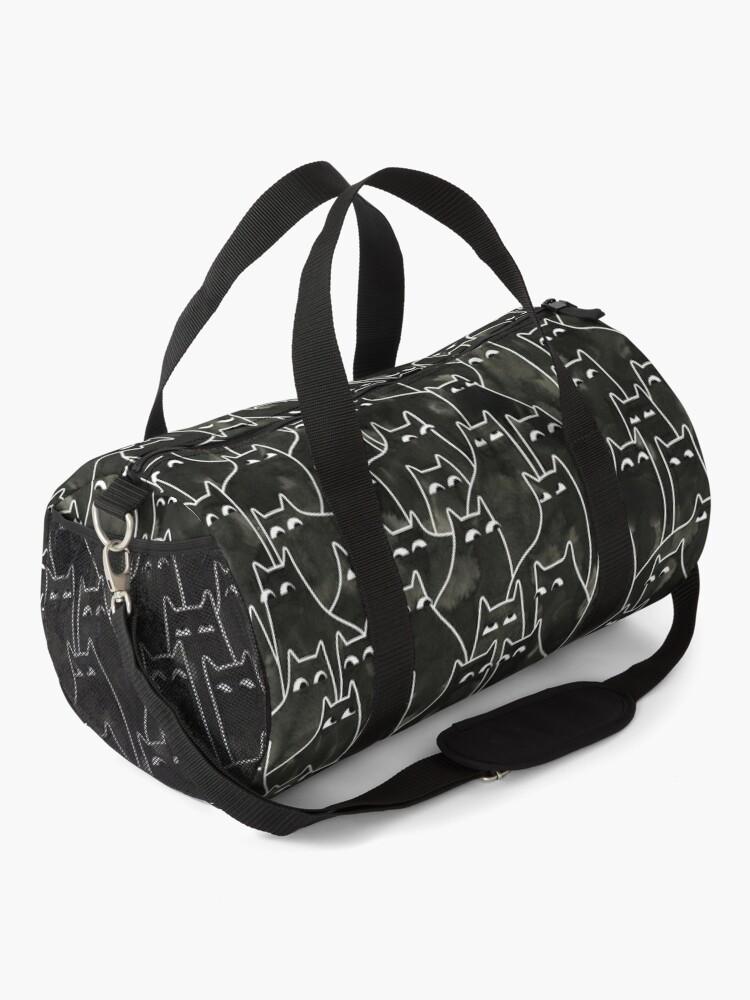 Alternate view of Suspicious Cats Duffle Bag