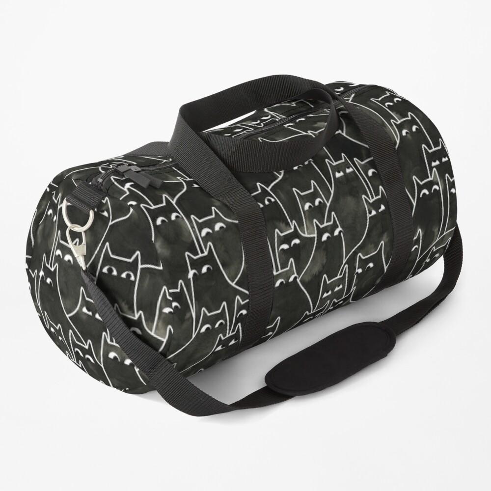 Suspicious Cats Duffle Bag