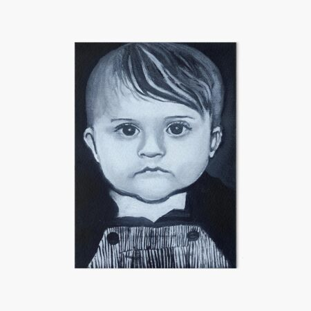 Baby Gabriel Art Board Print