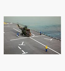 Eurocopter AS332 Super Puma Helicopter Photographic Print