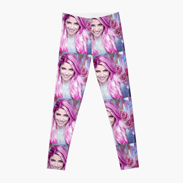 Alexa Bliss Pink Blossom Leggings