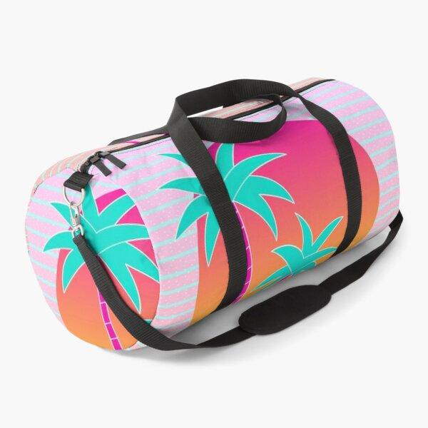 Hello Miami Sunset Duffle Bag
