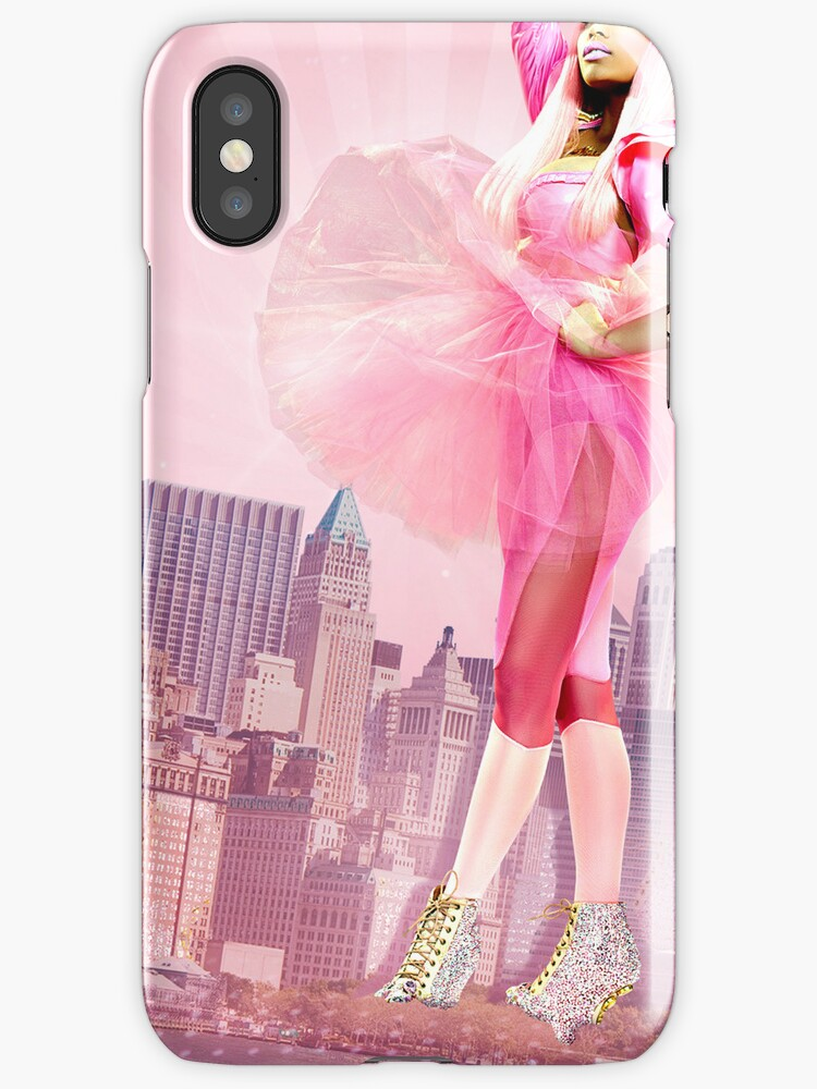 Pink Queen iPhone Case by MarajMagazine