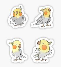 Cockatiels Sticker