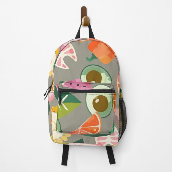 Healthy summer with fruits Backpack