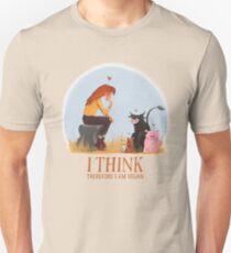 I think therefore I am vegan Unisex T-Shirt