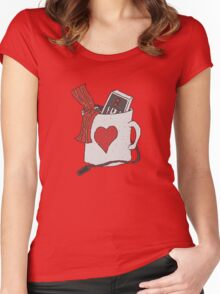 Cup O Luv Women's Fitted Scoop T-Shirt