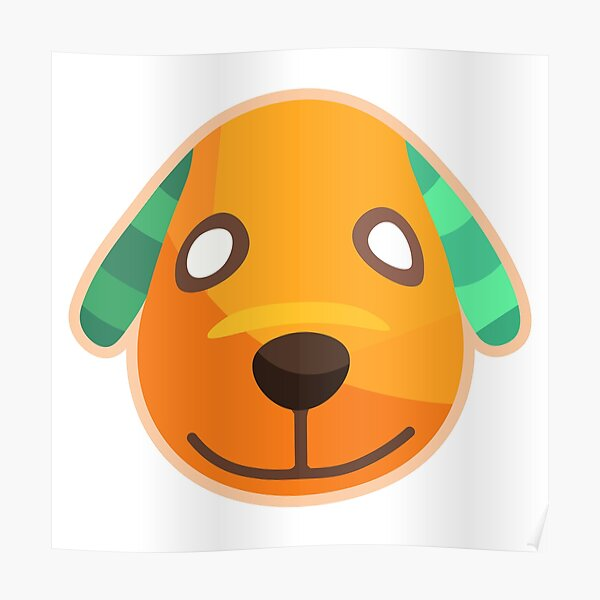 Biskit Animal Crossing Posters Redbubble