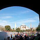 Temple in Istanbul, Turkey by DeBorah Davis, LMT