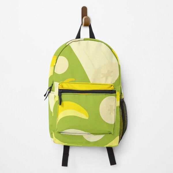 Seamless pattern of avocado in pastel Backpack