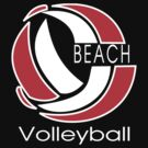 Beach Volleyball Dark by SportsT-Shirts