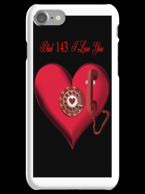 ❤ 。◕‿◕。 DIAL 143 I LOVE U IPHONE CASE ❤ 。◕‿◕。 by ✿✿ Bonita ✿✿ ђєℓℓσ