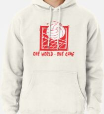 """Volleyball """"One World - One Game"""" Pullover Hoodie"""