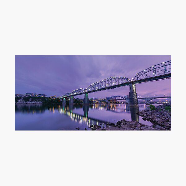 Chattanooga Bridges Photographic Print