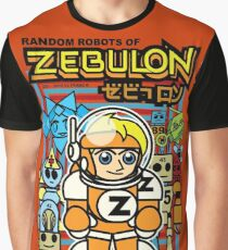 Random Robots of ZEBULON !  ( Vector Group ) Graphic T-Shirt