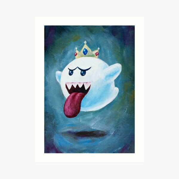King Boo Art Print