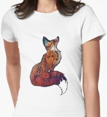 Space Fox Fitted T-Shirt