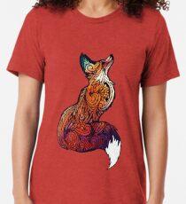 Space Fox Tri-blend T-Shirt