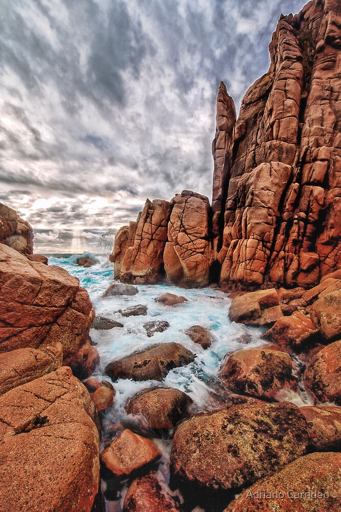 The Pinnacles by Adriano Carrideo