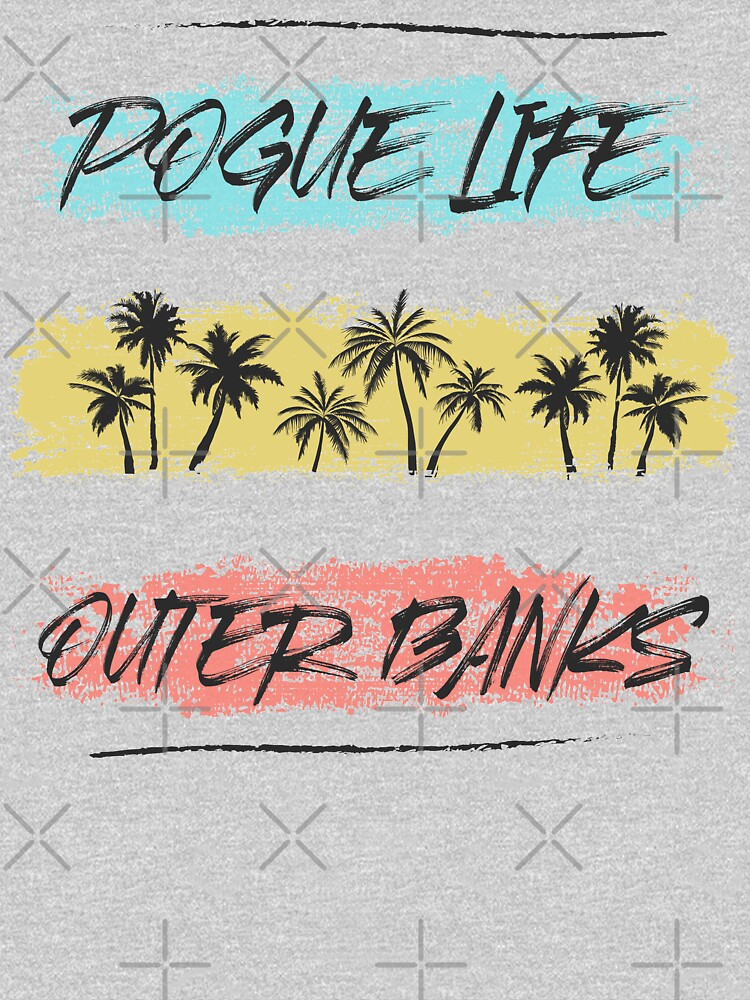 Pogue Life Outer Banks Retro Palm by iBruster