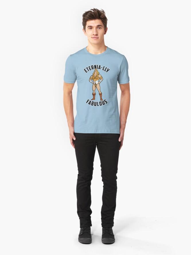 Alternate view of SHE-MAN: Eternia-lly Fabulous Slim Fit T-Shirt