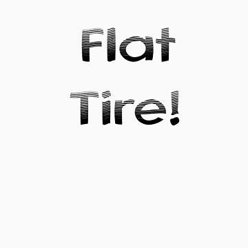 Flat Tire! by mirjenmom