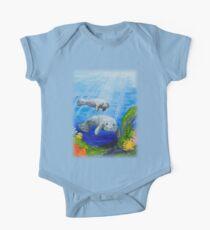 Sea Manatees  One Piece - Short Sleeve