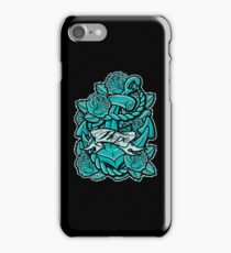 Anchor Roses 100+Views iPhone Case/Skin