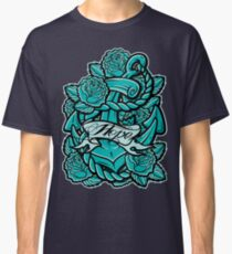 Anchor Roses 100+Views Classic T-Shirt