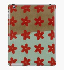 Red Hana iPad Case/Skin