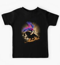Super Smash Bros. Duck Hunt Dog Silhouette Kids Tee