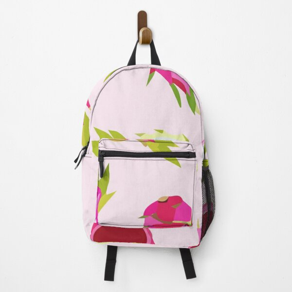 Vector seamless pattern with avocado exotic tropical fruits Backpack