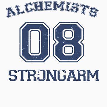 Strong Arm Alchemist #08 by drfrankensara