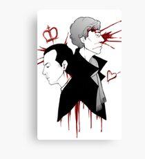 BBC Sherlock - The Reichenbach Fall Canvas Print