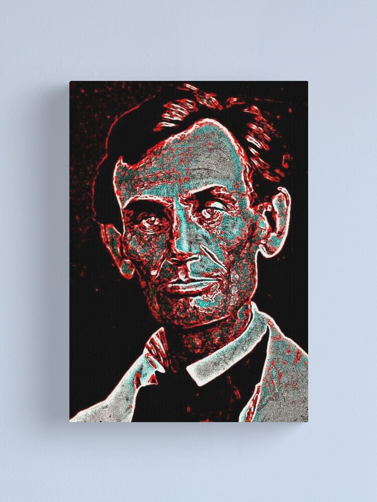 Alternate view of ABE LINCOLN Canvas Print