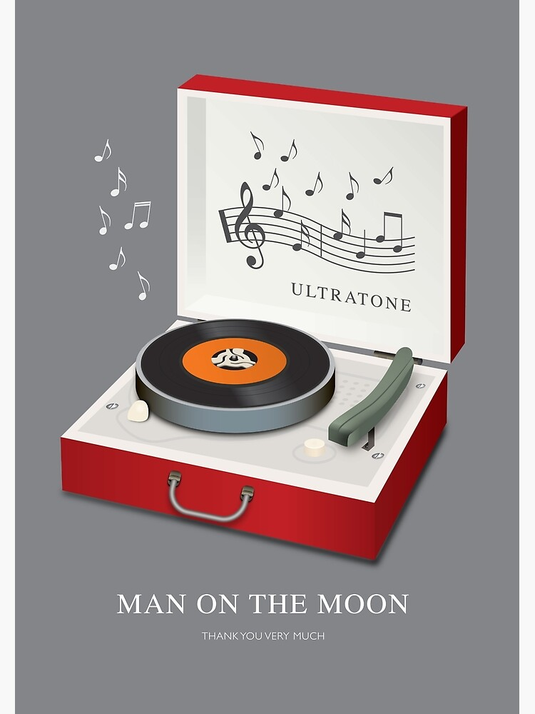 Man on the Moon - Alternative Movie Poster by MoviePosterBoy