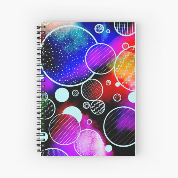 More Colorful Circles Spiral Notebook