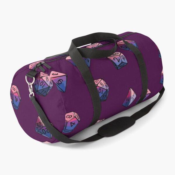 Pride Dice Set: Bisexual Duffle Bag